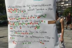 Researchmittagspause vor der TU Berlin