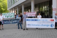 Researchmittagspause in Potsdam vor dem Bildungsforum